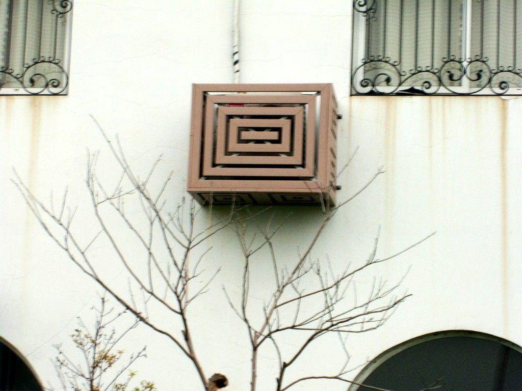 Air Conditioner Cover Flower Box Window Air Conditioner Air