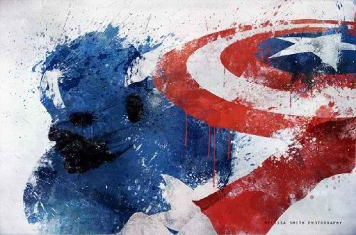 Superheros Splattered: Melissa Smith  -  Artist: Melissa Smith