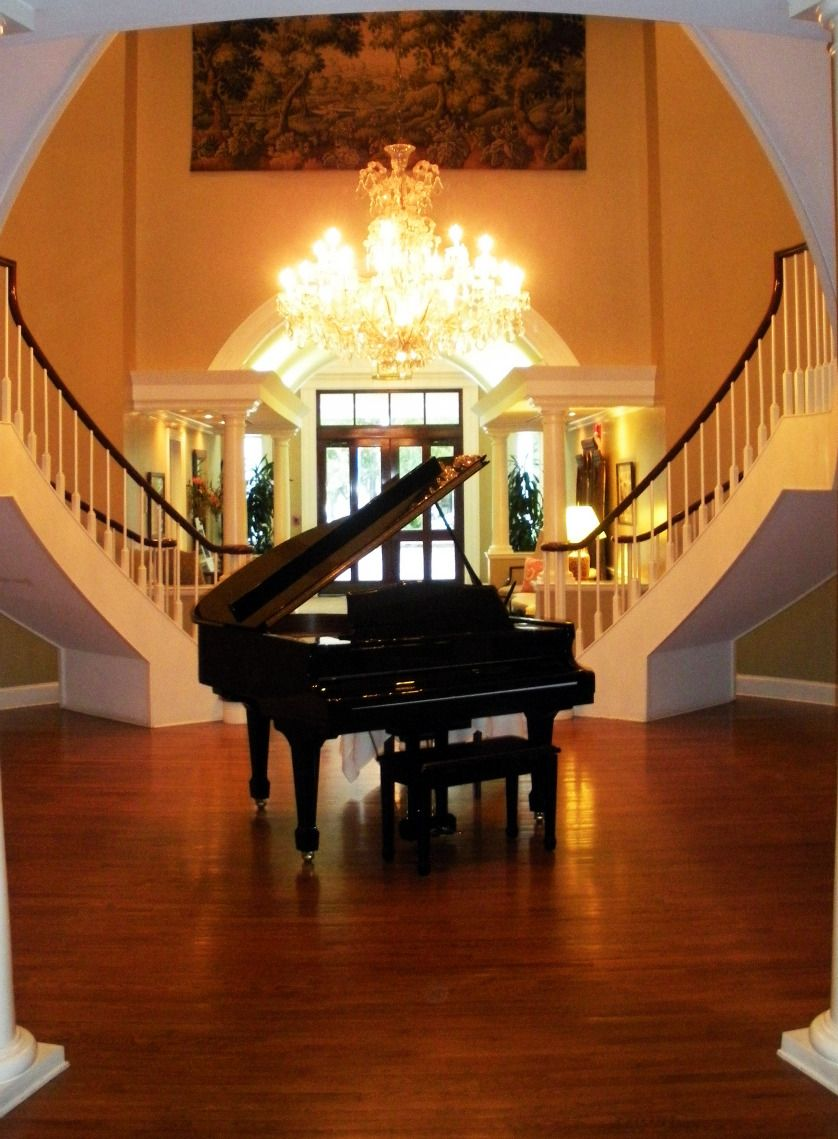 Country Club of Charleston - What a great Foyer!