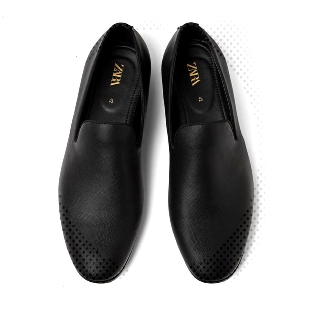 MEN embossed loafers. . . .