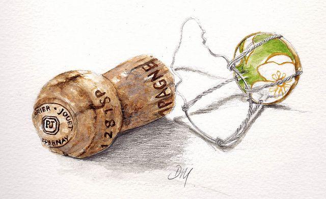 champagne cork by debra morris, via Flickr