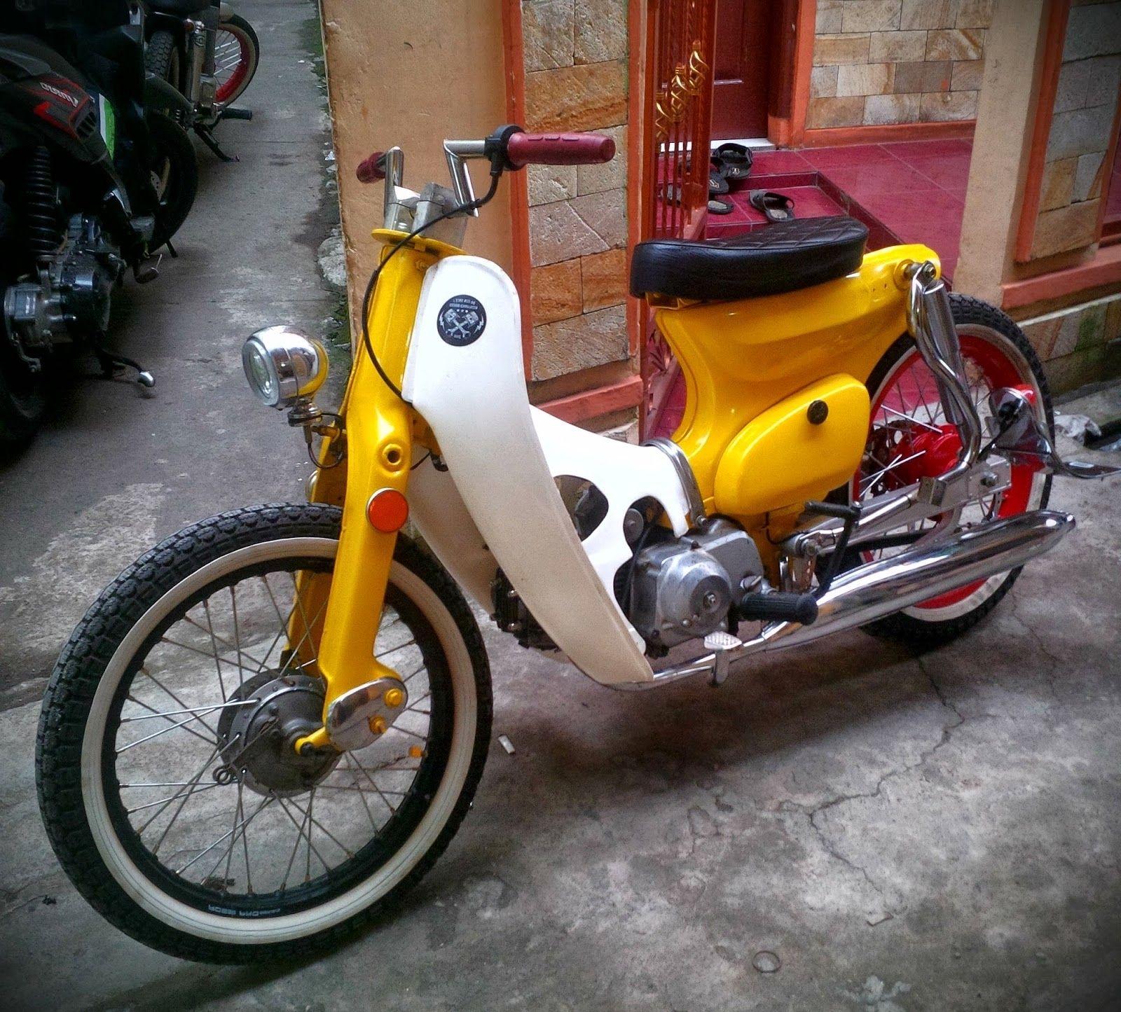 Modifikasi Motor Astrea 800 Untuk C70 Street Cub Marley Basic Astrea
