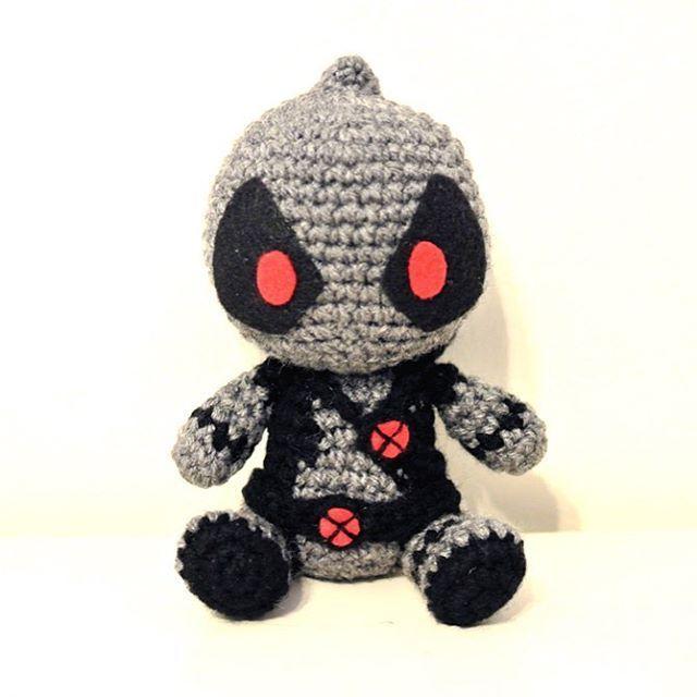 X force Deadpool Amigurumi | Amigurumi Obsession | Pinterest ...