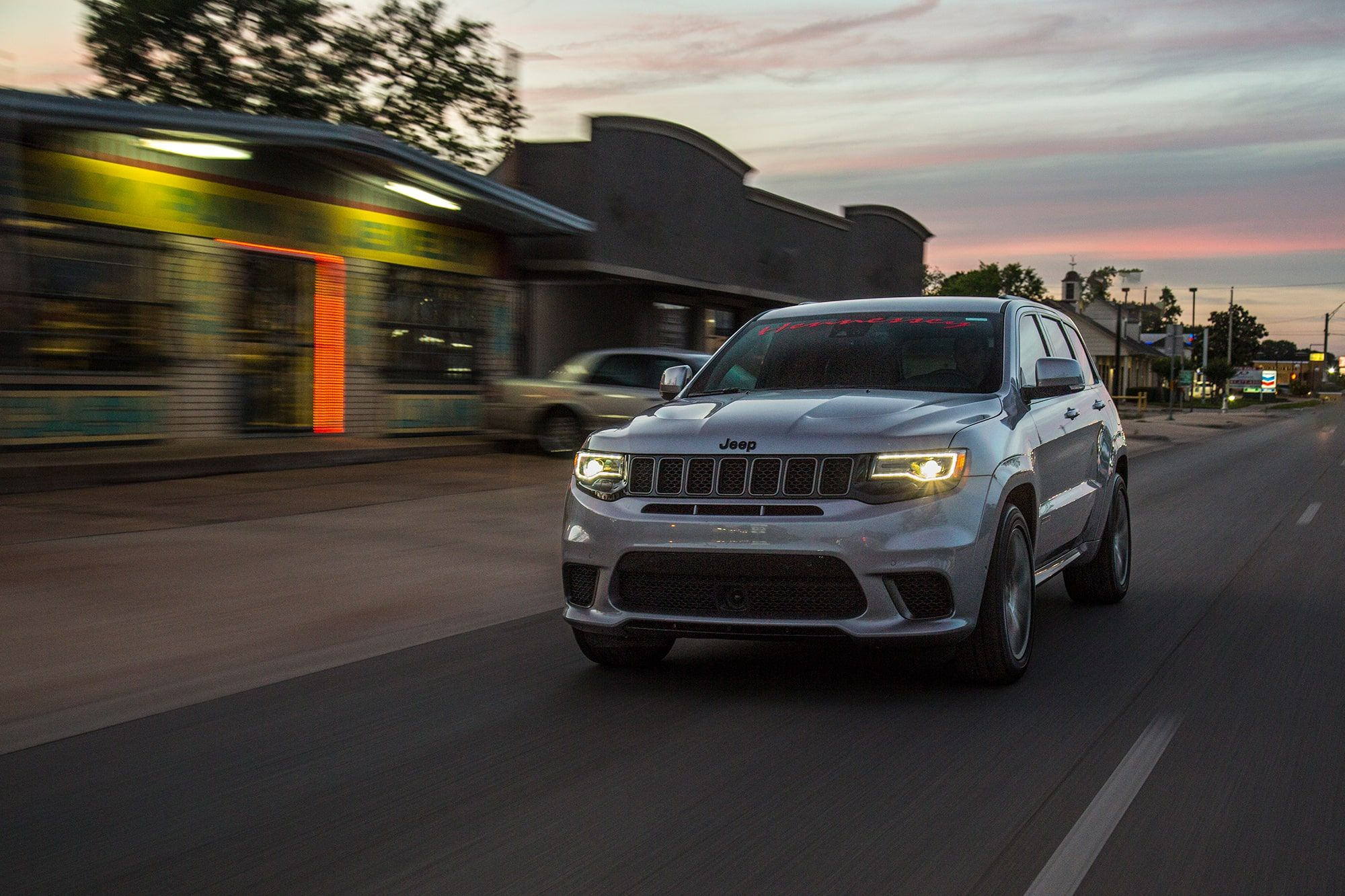 Watch Hennessey S Jeep Grand Cherokee Trackhawk Hpe1200 Destroy