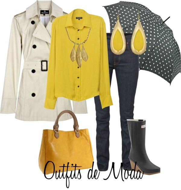 """Días de Lluvia"" by outfits-de-moda2 on Polyvore"
