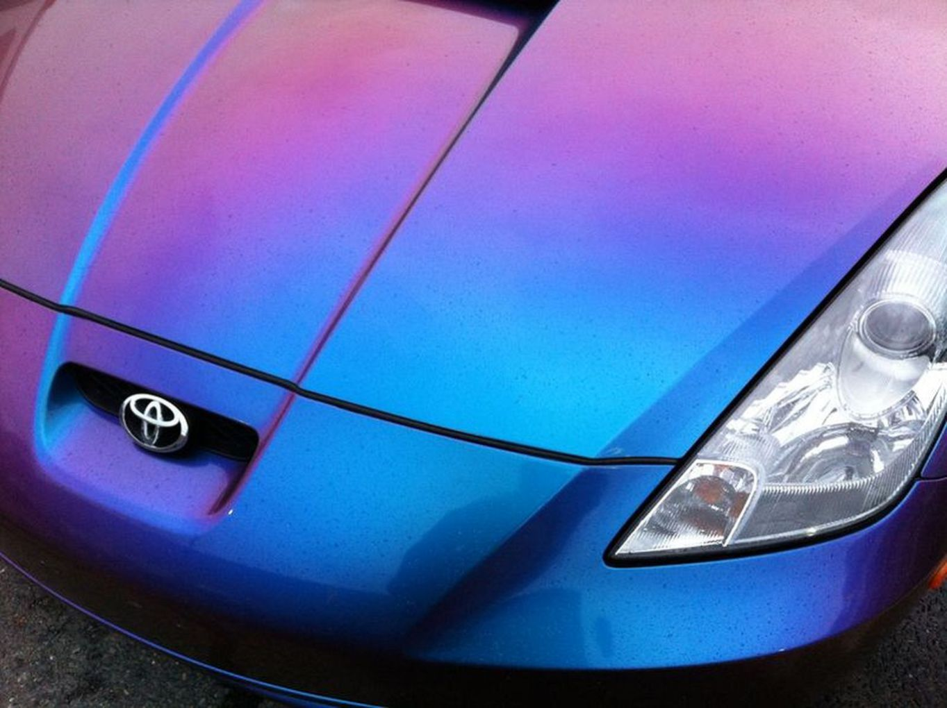 Chameleon Paint Cars Purple Trending Ideas 24
