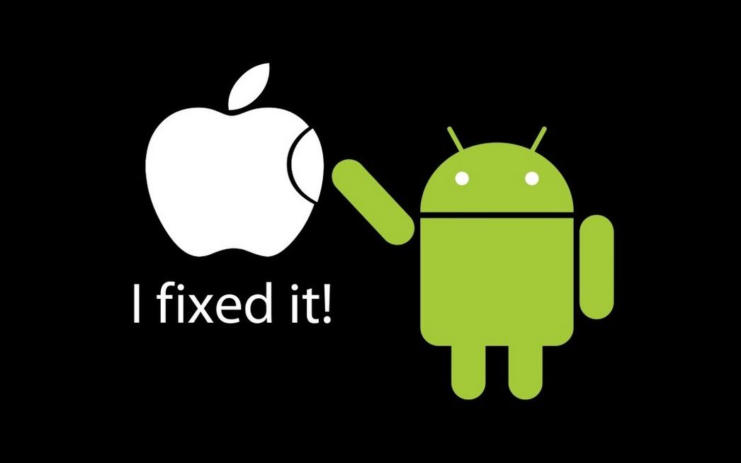 Google Apple Vs Android Android Vs Apple Iphone Memes