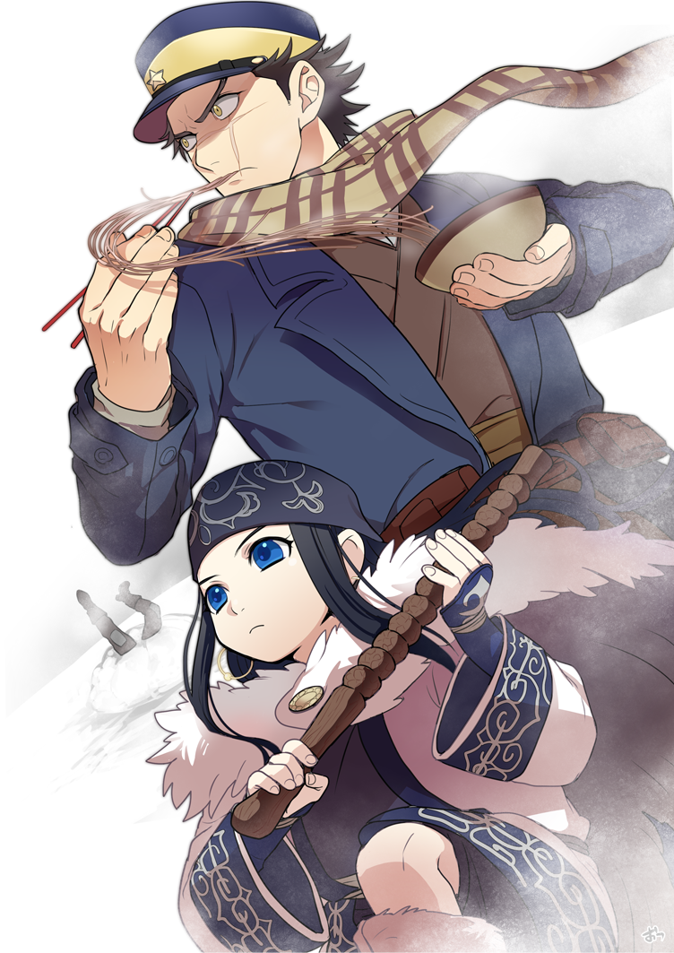 Golden Kamuy Anime images, Anime, Drawings