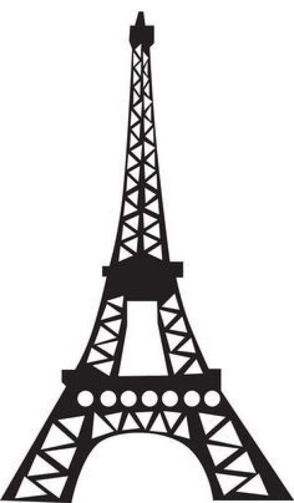 Eiffel Tower Silhouette Google Search Kidswoodcrafts Torre Eiffel Desenho Decoracao De Aniversario Ladybug Torre Eiffel