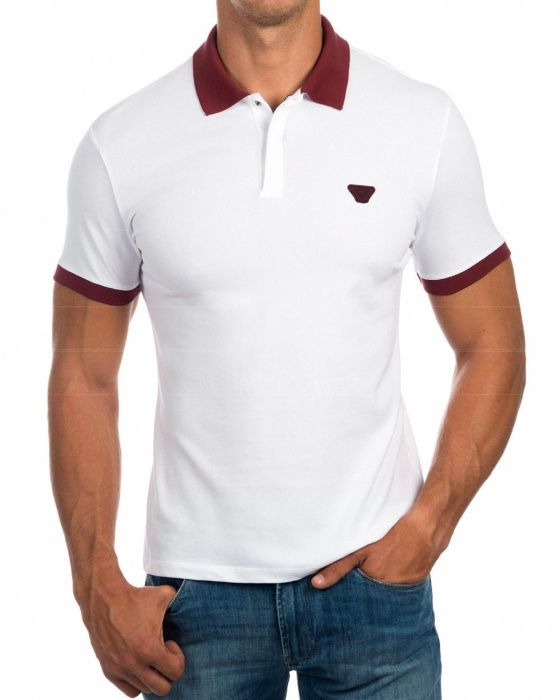 Polo Blanco Armani Jeans