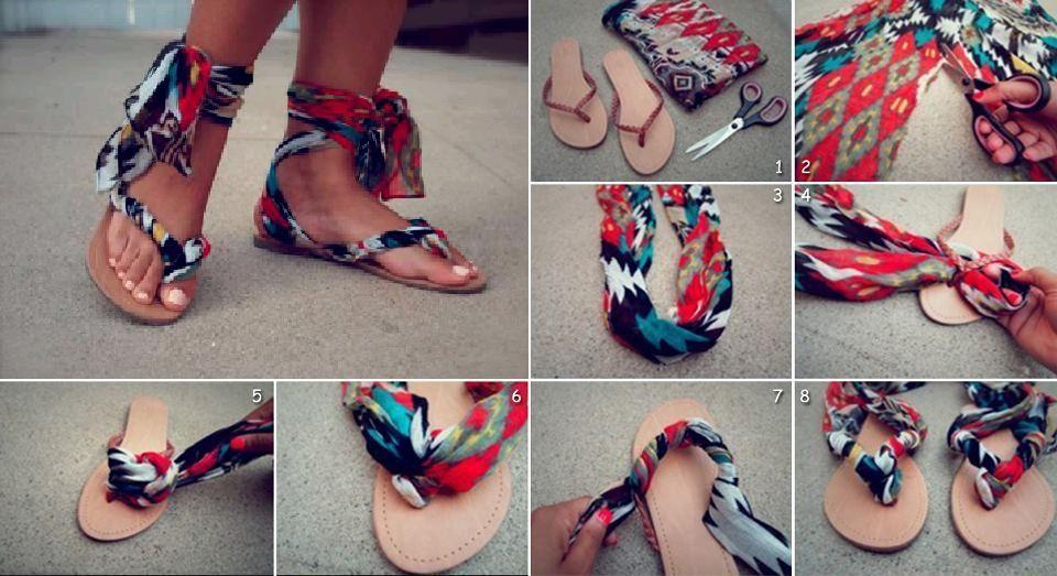 lace up flip flops sandals