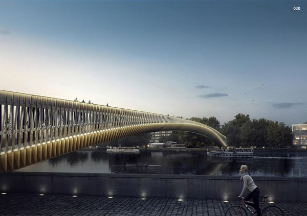 15 Designs De Pont Futuriste Pour Londres Architecture