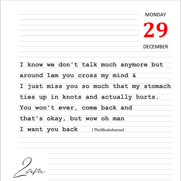I Know We Dont Talk Much Anymore 2am Talking Quotes
