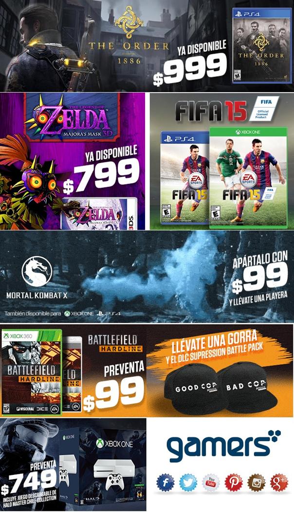 Los mejores juegos en el mejor lugar… ¡Gamers!