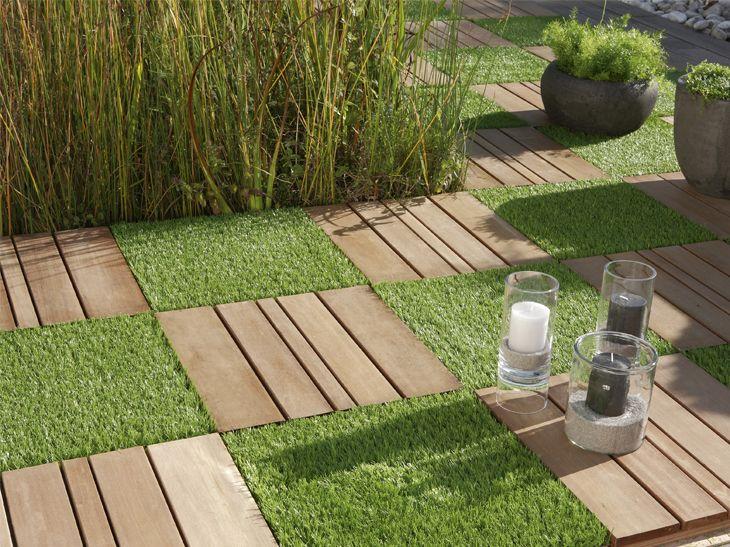 Gazon Artificiel Parfait Toute L Annee Leroy Merlin Avec Images Gazon Artificiel Terrasse Jardin Amenagement Jardin