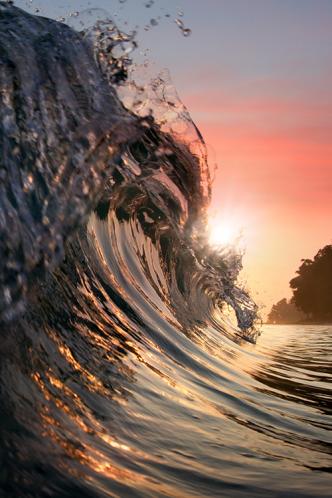 Breaking Surf by Vitaliy Sokol