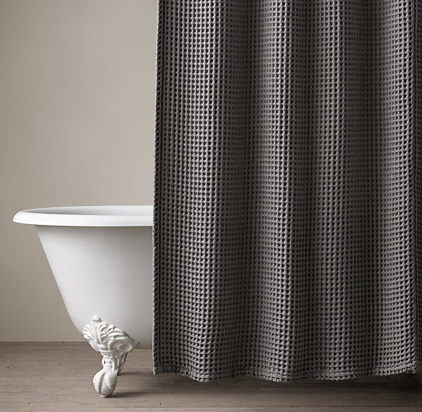 Waffle Weave Shower Curtain Waffle Weave Shower Curtain Man Bathroom Fabric Shower Curtains