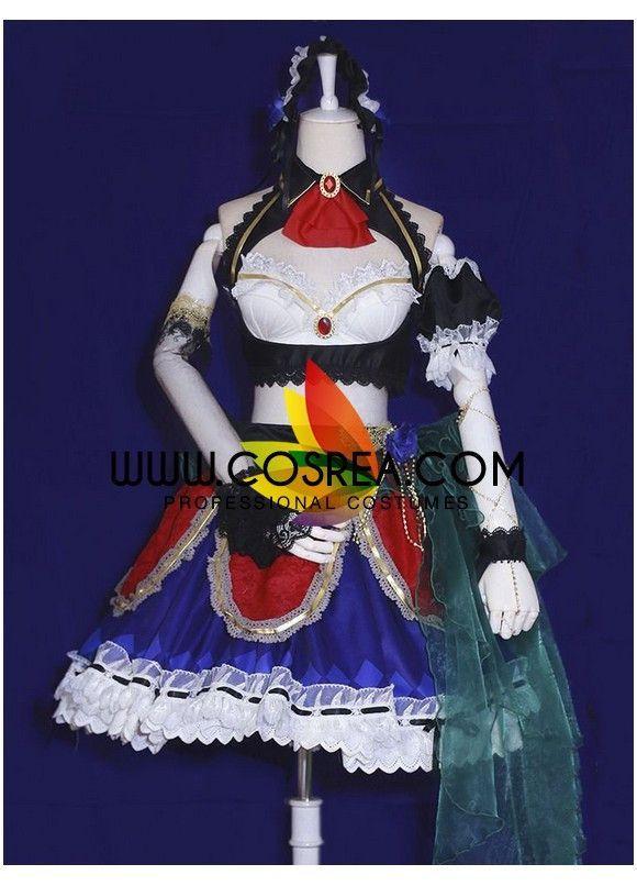 Idolmaster Ranko Kanzaki SSR Cosplay Costume