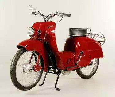 Binz 47cc 1950s Motos Antiguas Motos