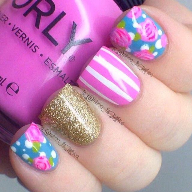 Jessica Christmas Nails: Instagram Photo By Whoa_its_jessica #nail #nails #nailart