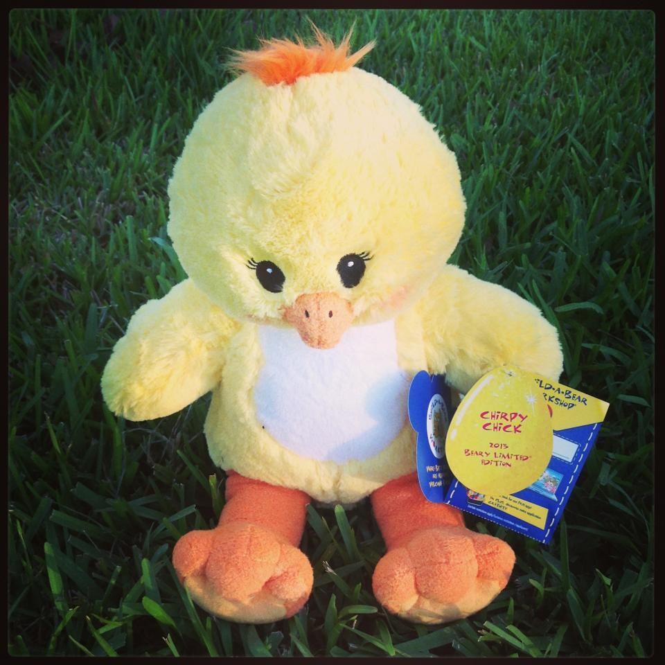 Build A Bear Chirpy Chick
