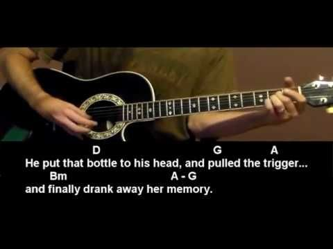 How To Play Whiskey Lullaby By Brad Paisley And Alison Krauss Guitar