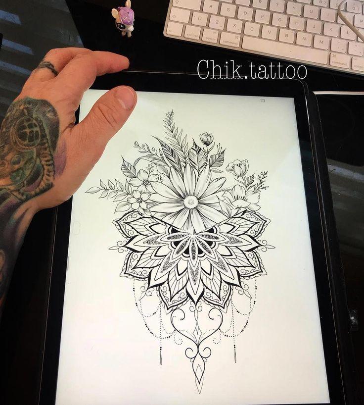 Photo of Mandala Tattoo Design #Mandalatattoo