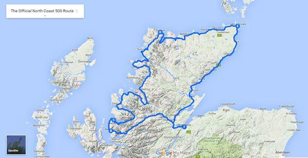 North Coast 500 Route | North coast 500, Scottish ...