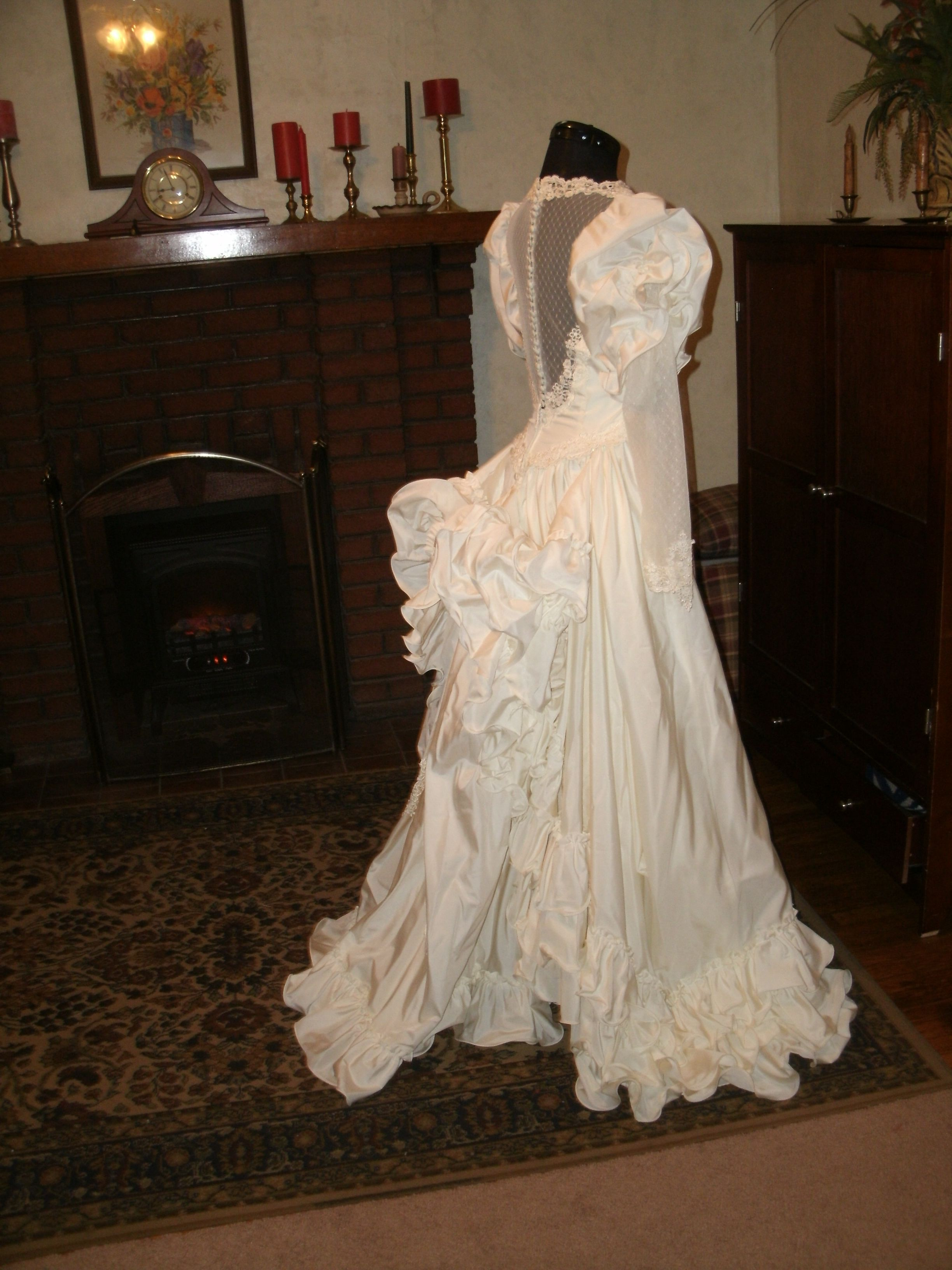 Cinderella wedding dress alfred angelo  My Vintage gowns are for sale on ETSY  weddings  Pinterest