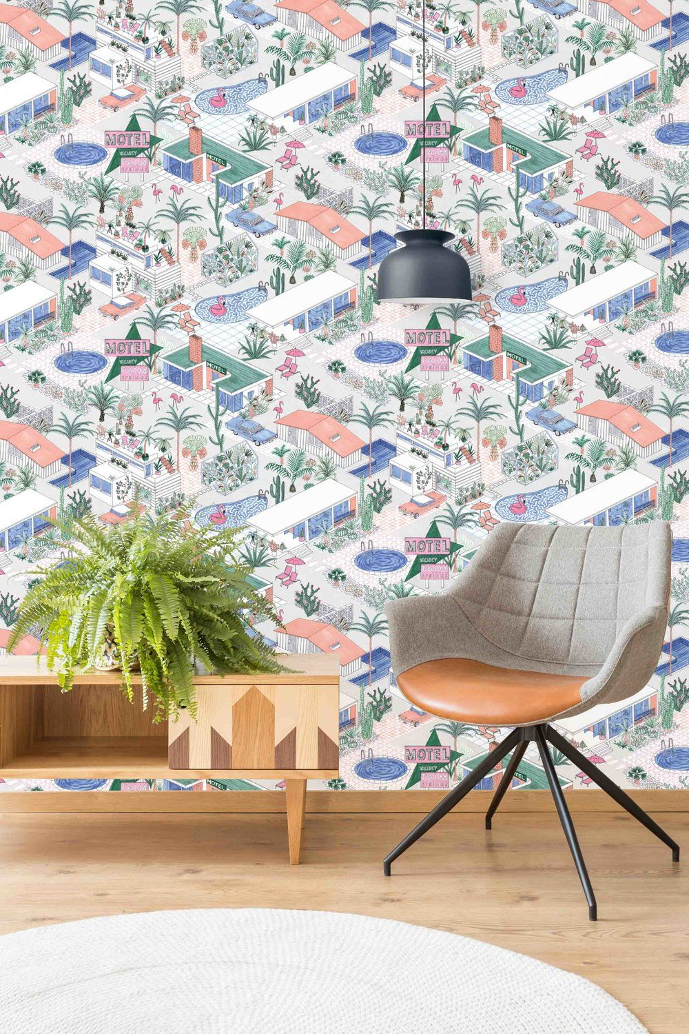 Palm Springs Pastel Paradise by Jacqueline Colley for