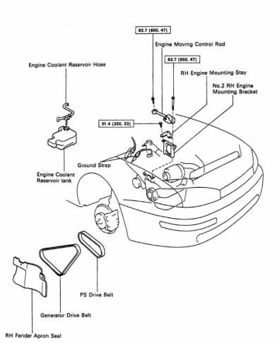 diagram toyotum corolla check off