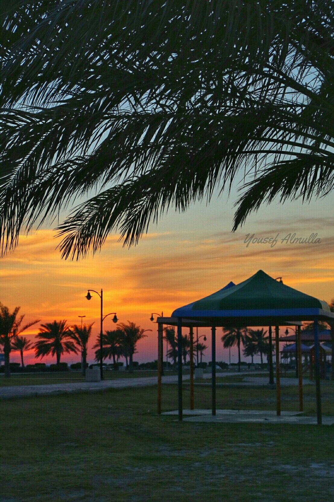 كورنيش رأس تنورة Celestial Outdoor Sunset