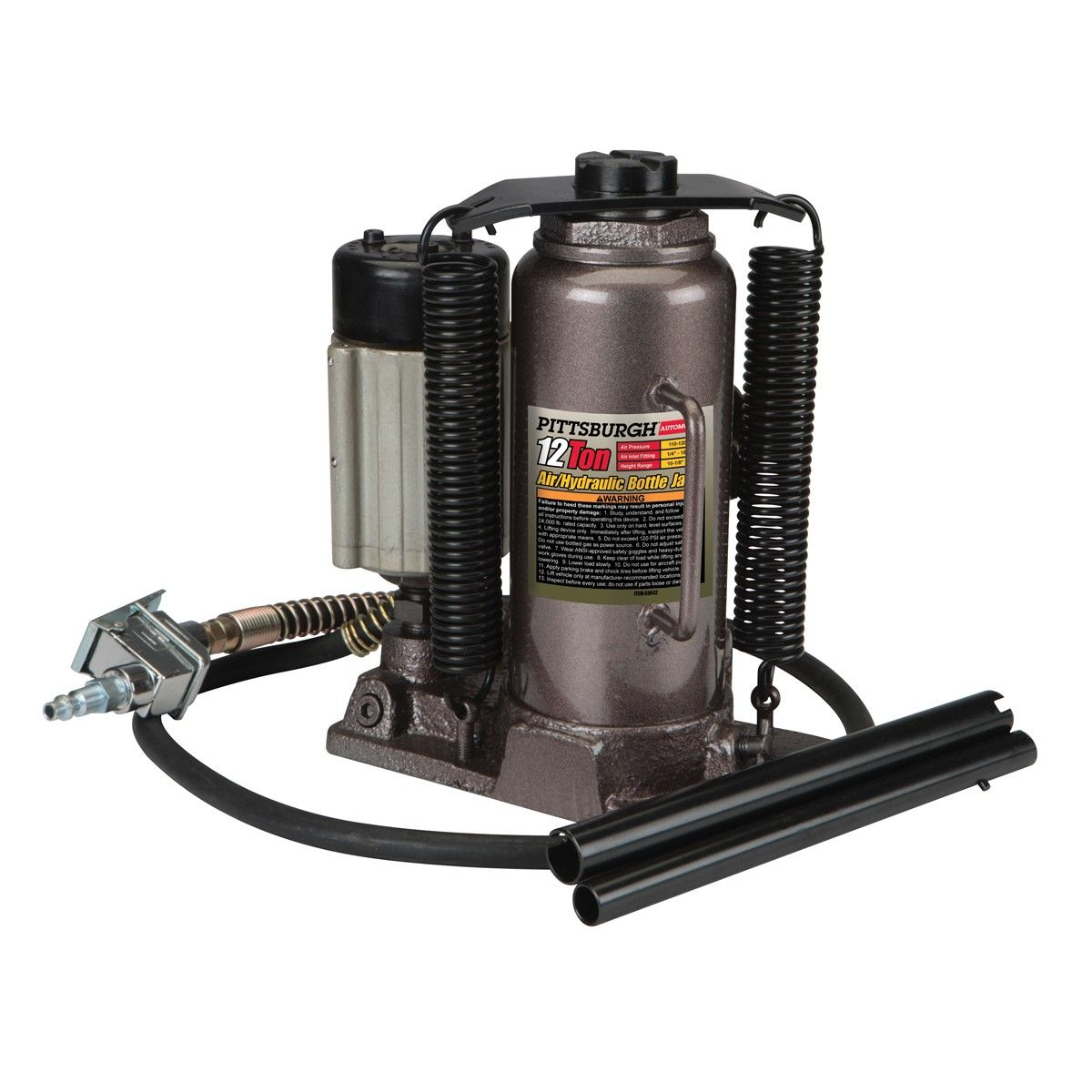12 ton Air/Hydraulic Bottle Jack Automotive shops