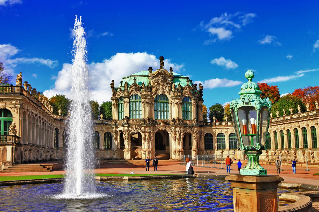 Zwinger Museum In Dresden Germany Germany Travel Guide Germany Travel Germany Vacation
