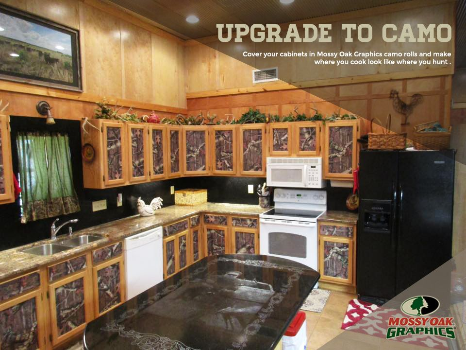 Mossy Oak Matte Camo Roll Mossy Oak Oak Dream Kitchen