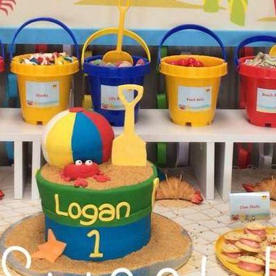 First-Birthday-Party-Theme-Ideas-Beach | First Birthday