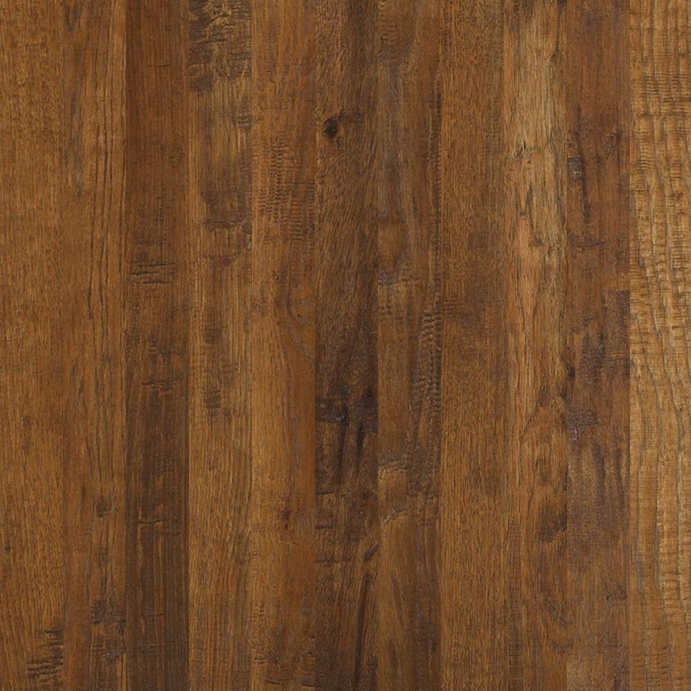 Shaw Western Hickory Espresso 3/4 in. Thick x 31/4 in