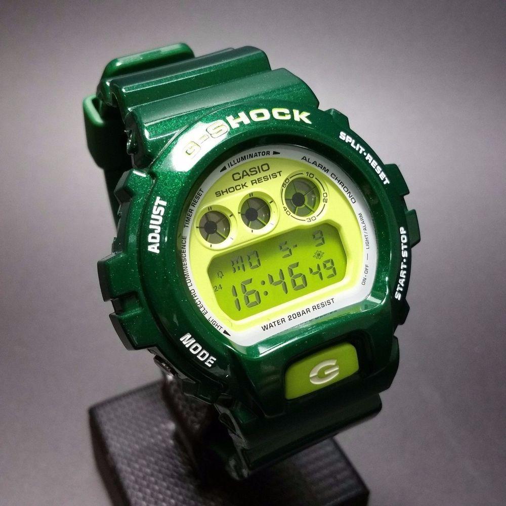 f40f33398 G-SHOCK DW-6900CC-3 Rare Metallic Crazy Colour 6900 Series #GSHOCK #Casual