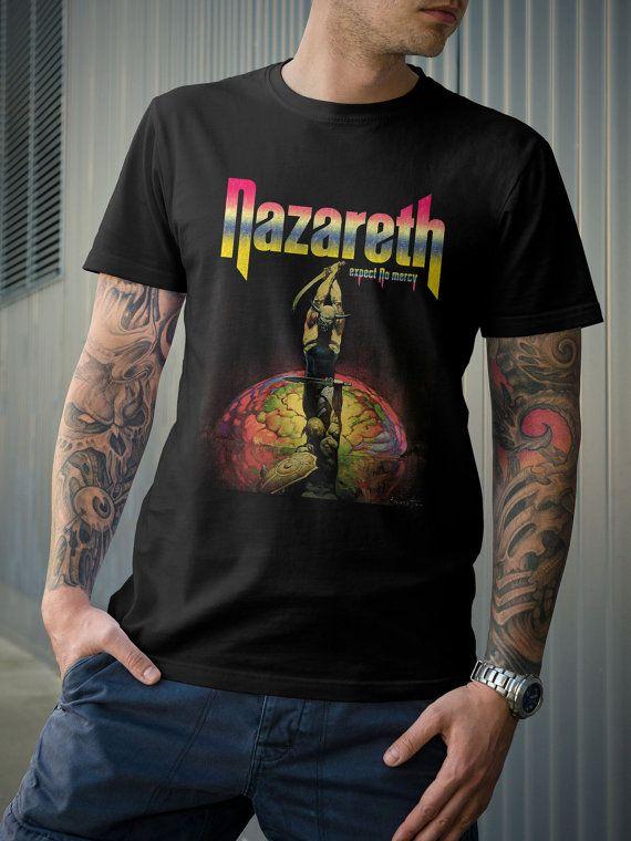 2a464e387f48d9 Nazareth Rock Band Expect No Mercy Album TShirt by 21street