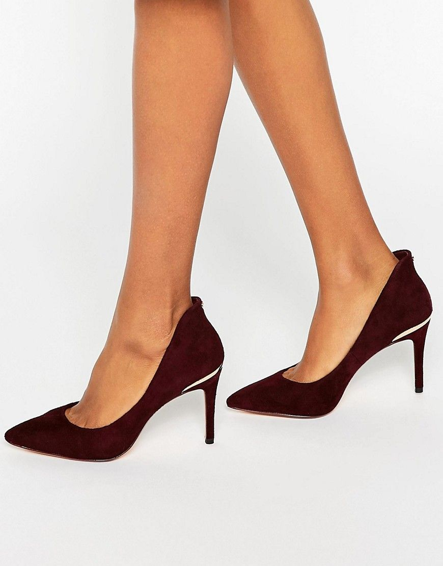 aaa89a9476d9 Ted Baker Saviy Suede Pumps