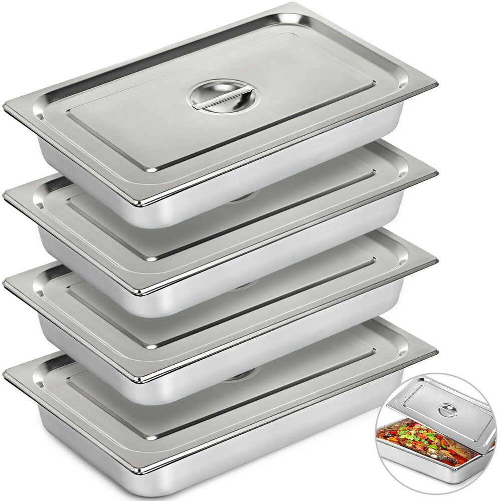 Ebay Sponsored Steam Table Pans Bain Marie 4 Pack Steam Prep