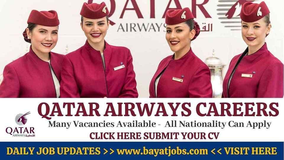 Qatar airways careers latest jobs announced 2020 in 2020