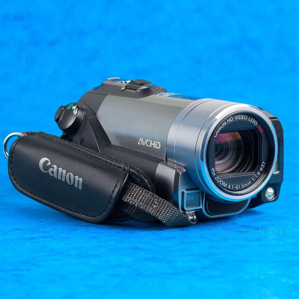 Canon Vixia HF200 AVCHD 1080p Camcorder 15x Zoom OIS Full HD