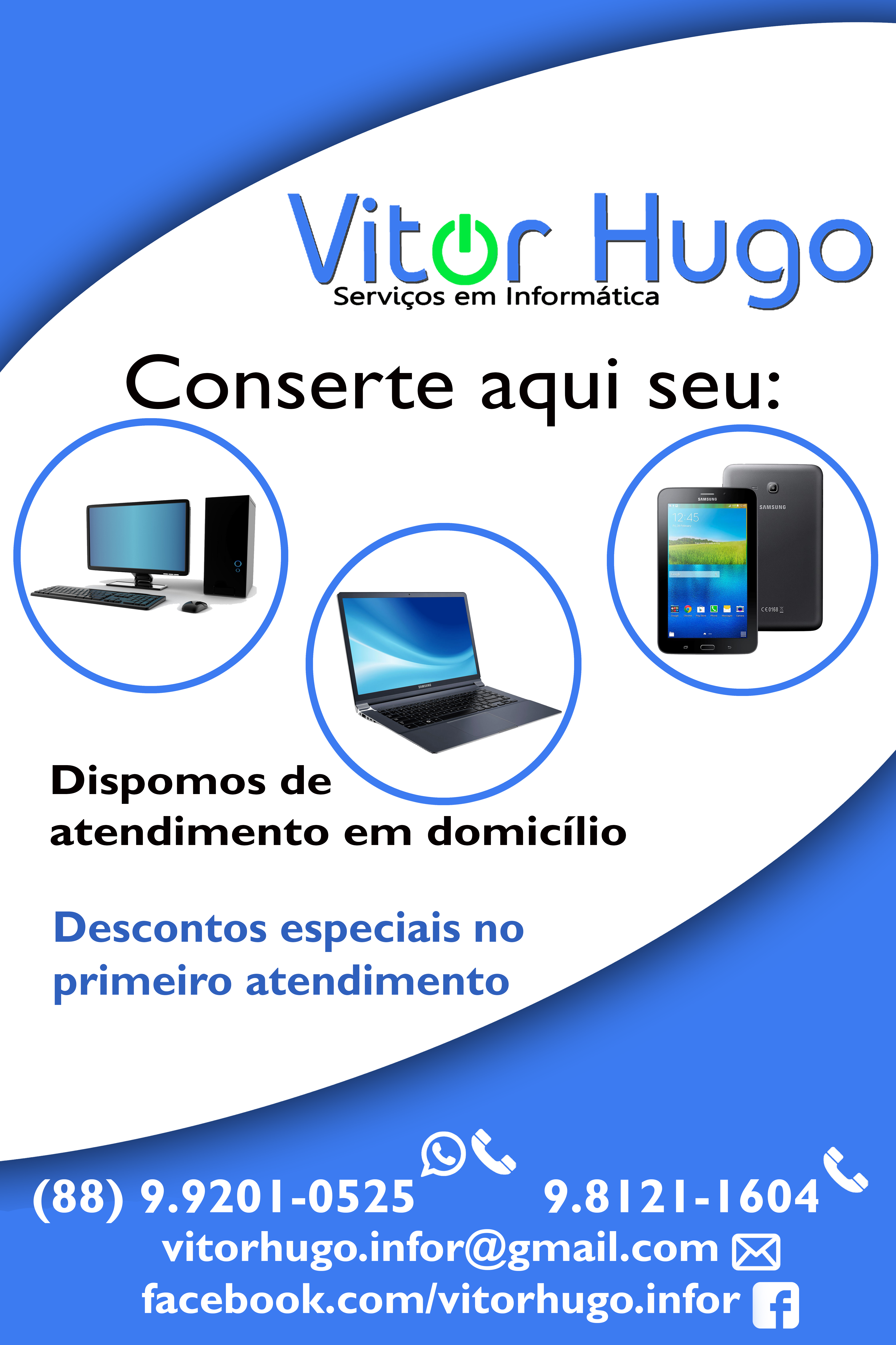 Cartaz Vitor Hugo Cartaz