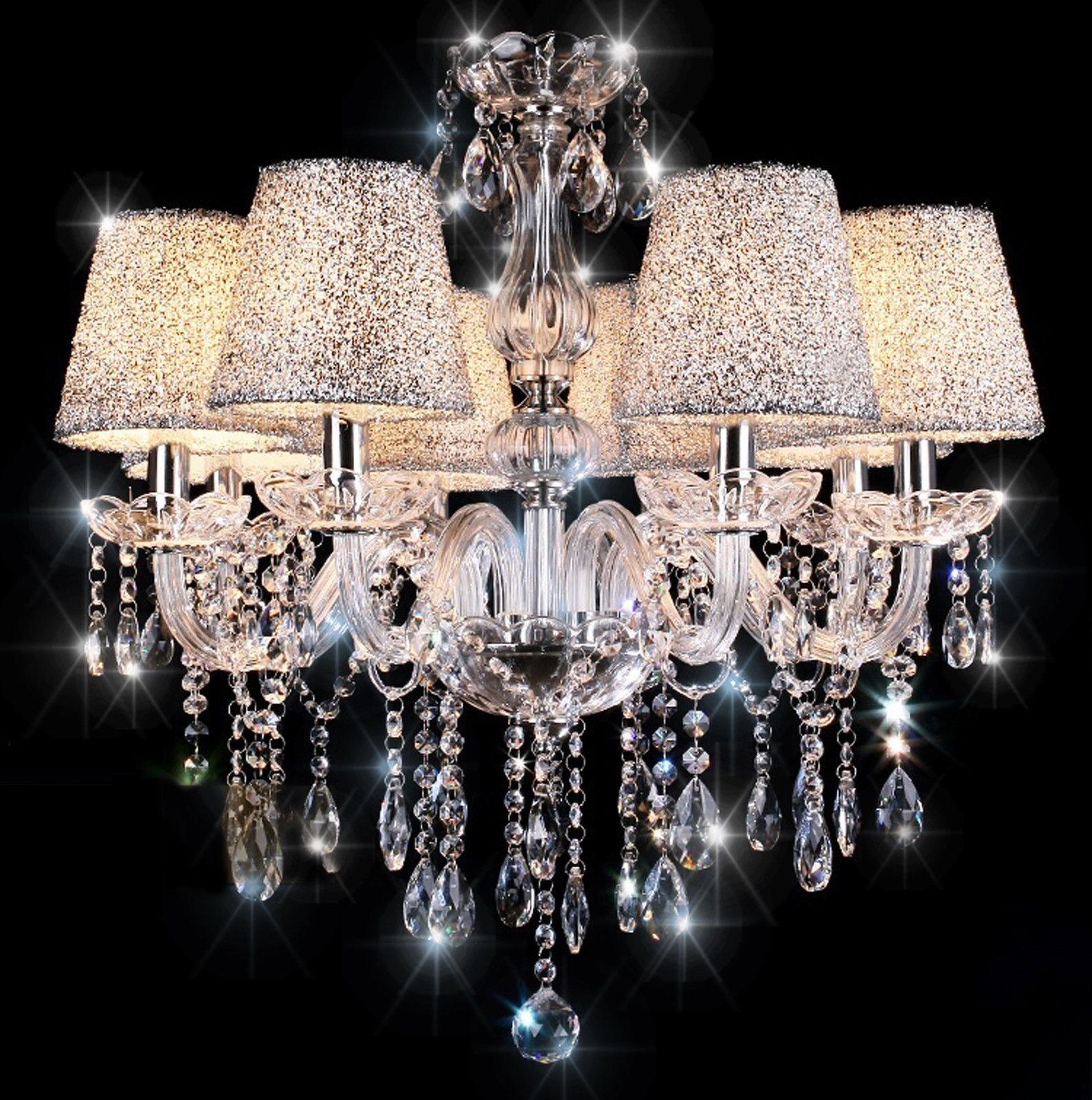 Chandelier Topmax 5 Light Crystal Ceiling Lamp House Ideas Crystal Chandelier Lighting