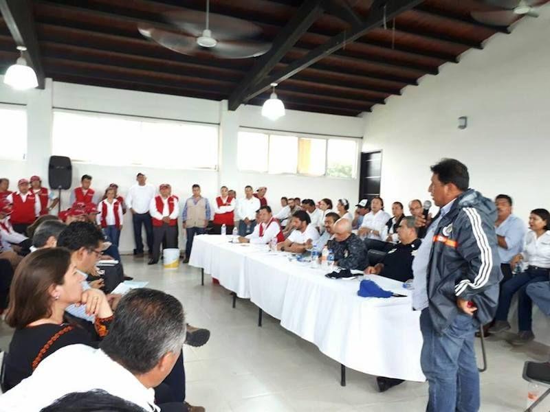 Solicita Félix Serrano ampliación del censo de viviendas afectadas en Ixtepec