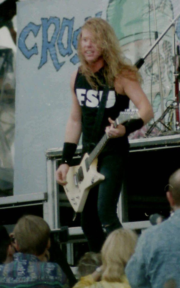 G/én/érique T Shirt Metallica James Hetfield Guitare Metal