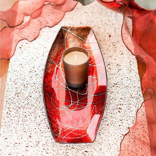 Silber Verfärbt Sich Rot