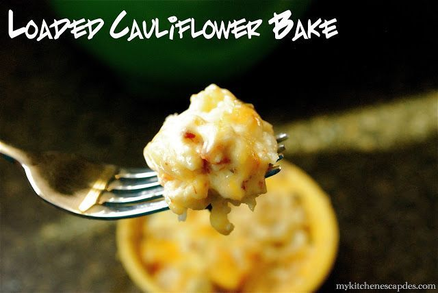 Loaded Cauliflower Bake - #loadedcauliflowerbake Loaded Cauliflower Bake #loadedcauliflowerbake