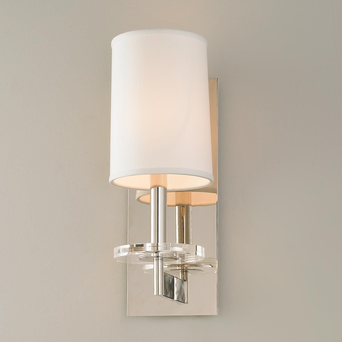 Modern Kitchen Battery Operated Sleek Crystal Disc Wall Sconce In 2019 Wall Sconces